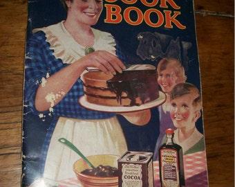 CookBook--Vintage--F W McNess--1908