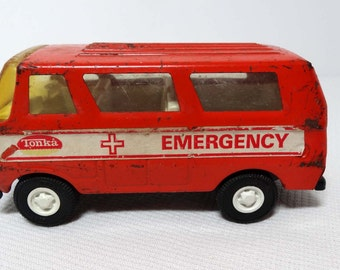 Tonka Die Cast Cars Emergency Vehicle Toys and Games Toys Play Vehicles Toy Cars and Emergency Vehicles