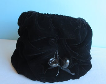 Vintage Black Women's Hat