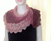 Fashion Holiday Accessories,Red knitting Triangle Shawl  holiday accessories lace fashion