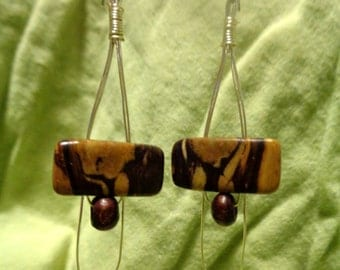 Teardrop Agate Dangles