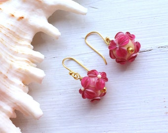 Cottage Flower Earrings