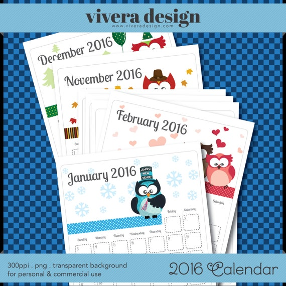 December 2016 January 2017 Kitchen Of The Month: Printable Monthly Calendar Jan To Dec 2016 With By