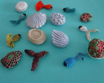Crochet stones printing picture,Fine Art Photography,crochet decor,Home Decor Wall Artnumber 5