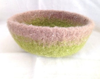 Felted Bowl 4