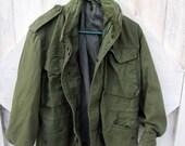 Vintage Army Jacket Warm Unisex