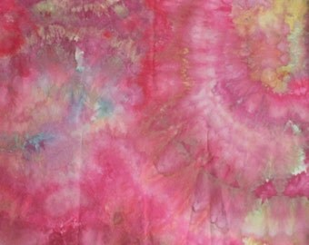 Hand dyed fabric - 135