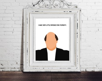 Kevin Malone, The Office, digital download, funny tv show quote, michael scott, angela oscar, pam beesly, jim halpert, last minute gifts diy