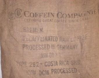 Burlap sack, Coffee bag, Jute, Large