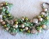 Cha Cha Bracelet, Charm Bracelet, Beach Bracelet, Beach Jewelry, Boho Bracelet, Boho Jewelry, Gypsy Bracelet - FLORIDA KEYS