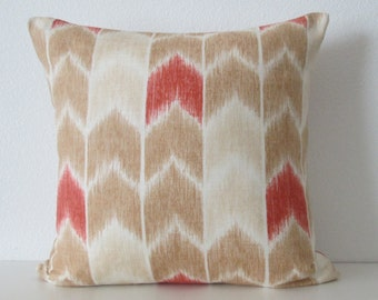 Nate Berkus Cingo Praline designer decorative pillow cover