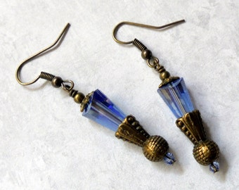 Blue Crystal Earrings (2499)