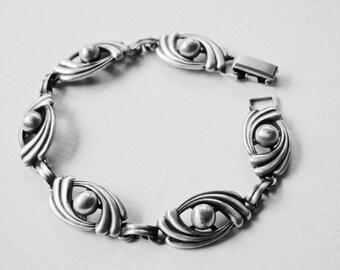 Van Dell Bracelet, Van Dell Sterling, Designer Jewelry, Vintage Bracelet, Vintage Jewelry, Mid Century