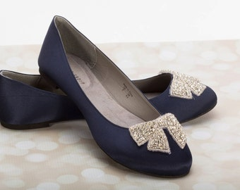 Navy Wedding Shoes Gallery   Wedding Dress, Decoration And Refrence