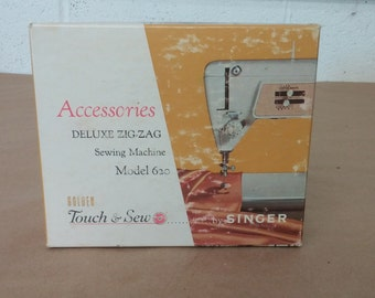 Vintage Accessories Deluxe Zig Zag Touch and Sew