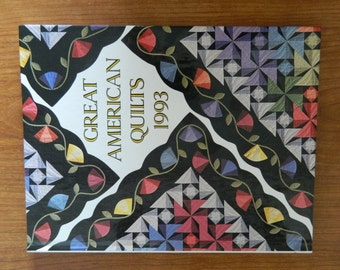 Great American Quilts, 1993 by Oxmoor House Crafting Leisure Arts Hardback
