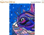50% OFF Storewide- Cat Angel Art Print Poster by Heather Galler (HG7657)