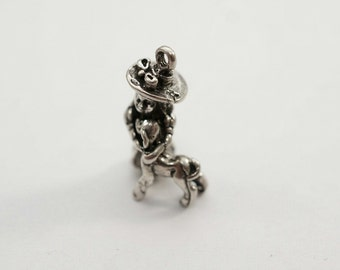 Sterling Silver Little Bo Peep  with Lamb Charm