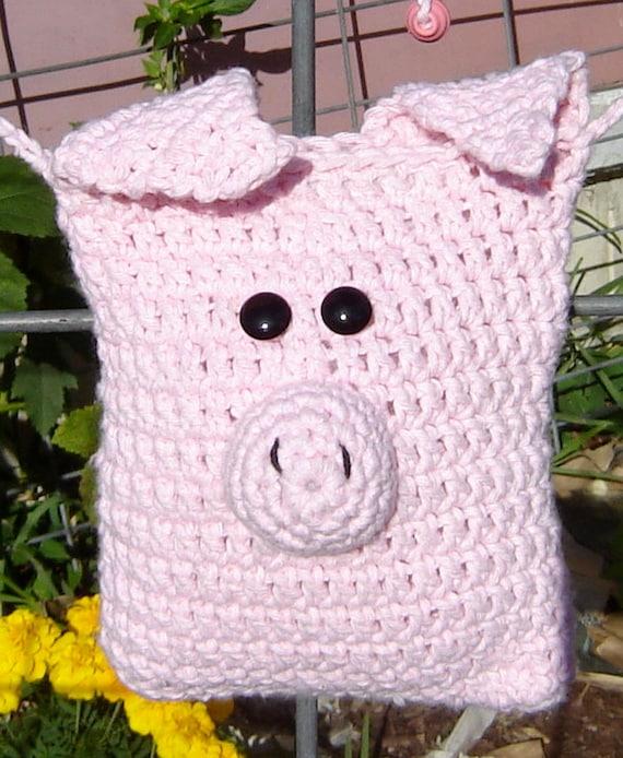Items similar to PATTERN Little Pig Purse Crochet PATTERN ...