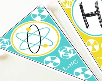 SCIENCE LAB Party Banner