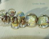 Handmade Lampwork Beads - 'Dangles!' Neutral - Creeky Beads - SRA