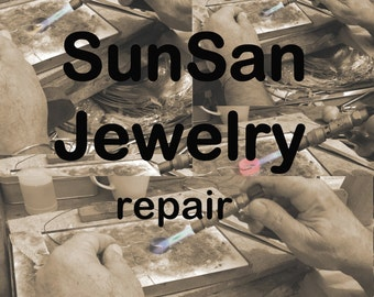 Jewelry Cleaning and Repair, Gold Re-Plating, Black Oxide Patina Reapplication