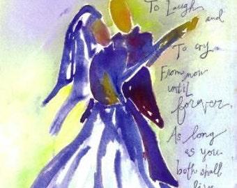 Wedding Dance, Card