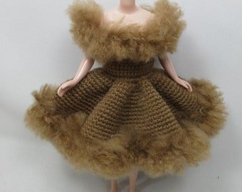 Handcrafted crochet knitting dress outfit clothes for Blythe doll # 200-34
