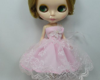 Blythe Outfit Clothing Lace Fashion costume fairy dress  999-5