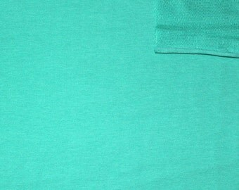 Seafoam 4 Way Stretch French Terry Knit Fabric With Spandex, 1 Yard
