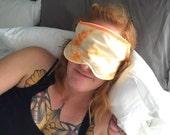 Lemon Balm Organic Aromatherapy Sleep Eye Mask Relaxation Headache Migraine Travel Mask Gift for Valentine's Day