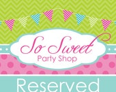 Reserved for denisesummers1 - Pink and Orange Polkadot Party Decorations