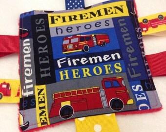 Fireman Hero baby Crinkle Toy