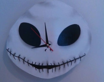 Nightmare Before Christmas/ Jack Wall Clock
