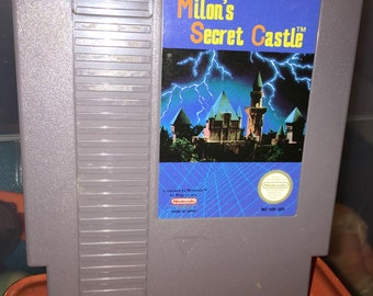 1980's NES nintendo Milin'sSecret Castle video game RAD