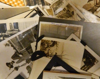 Mixed  Snapshot Photo Lot, Over 50 Snaps,  Photography, Vintage, Collectible, Images