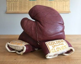 Vintage Spalding Golden Gloves Boxing Gloves