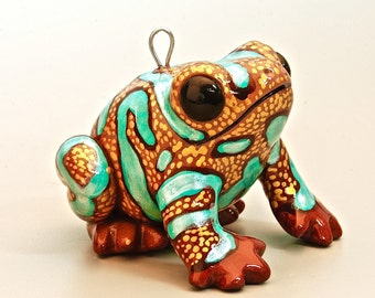 Highland Bronze Poison Dart Frog Ornament LIMITED EDITION OF 4