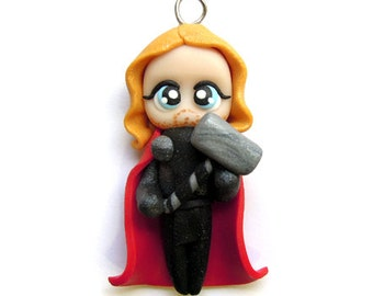 ONLY 4 LEFT - Thor - Miniature Sculpture - Charm Figurine