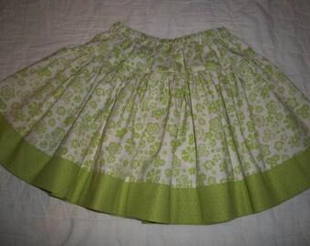 Twirly Skirt Girl Size 5/6