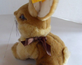 Steiff rabbit bunny sitting all Ids made in Germany 1234