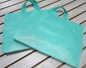 20 Pack Aqua Soft Loop Handle Bags (16 x 11.5 in.) // BOUTIQUE CHIC //
