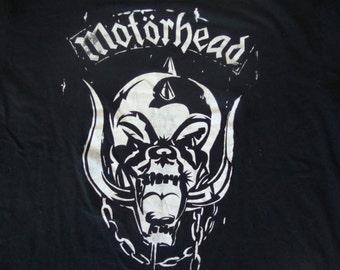 Motorhead Lemmy Kilmister Heavy Metal Concert Tour T shirt XL