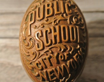 Very Rare Antique NYC Public School Door Knob