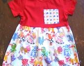 Girls Monster Dress with Monster High Tops Pocket