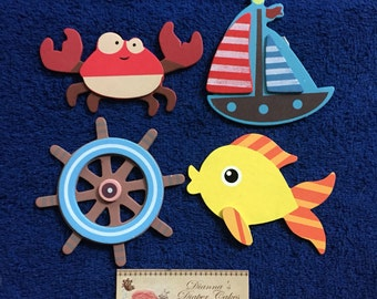 Under the Sea Decorative Outlet Socket Plug Covers Water Pals Baby and Kids Room Decorations