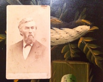 Cdv Photo - Handsome San Francisco Man - 1800's California
