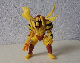Power Ranger Stinger Shooting Grumble Bee  Evil Space Alien Action Figure, 1994 Bandai