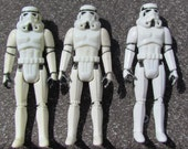 3 Stormtroopers Vintage Star Wars 1977 Action Figure A New Hope Storm Trooper