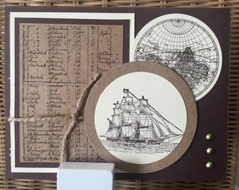Happy Father's Day -- Ship/Travel theme